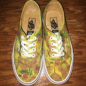 Vans x Vincent Van Gogh Sunflower Sneakers